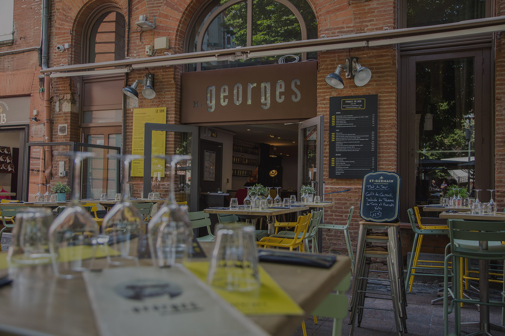 Monsieur Georges - Restaurant situé Place St Georges à Toulouse